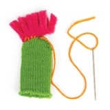 Mix & Match Hats: Pint-size Pals - Step 2
