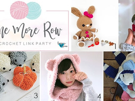 One More Row - Free Crochet Link Party #13