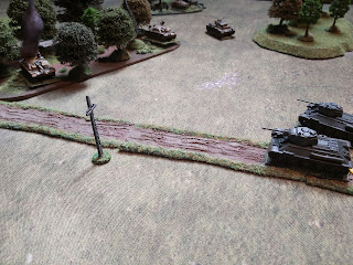 T-34s and StuGs fire at one another