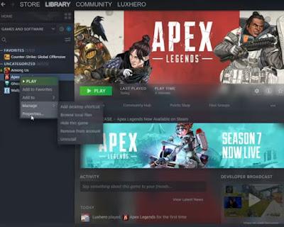 Apex Legends, Season 7, Fix Stop Working, Hang, Crash