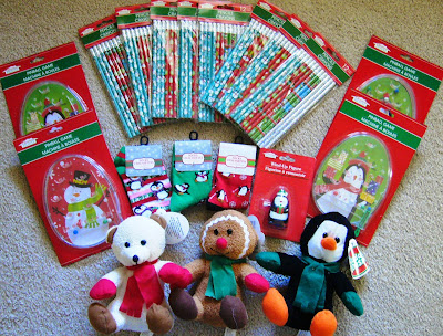 Operation Christmas Child filler