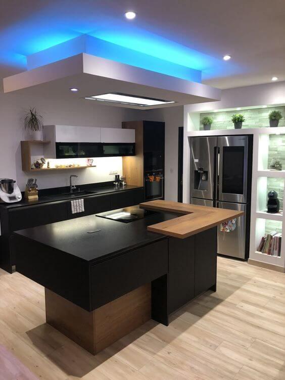 Designer Kitchen False Ceiling Design 2021