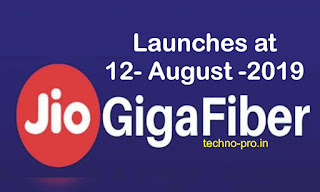 Reliance Jio GigaFiber : Jio Gigafiber plans | Launch date | Speed...