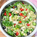Italian Chicken Pasta Salad with Basil Vinaigrette
