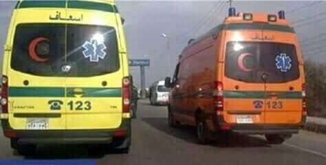 إصابة 7 أشخاص أثناء حادث سير فى طهطا بسوهاج