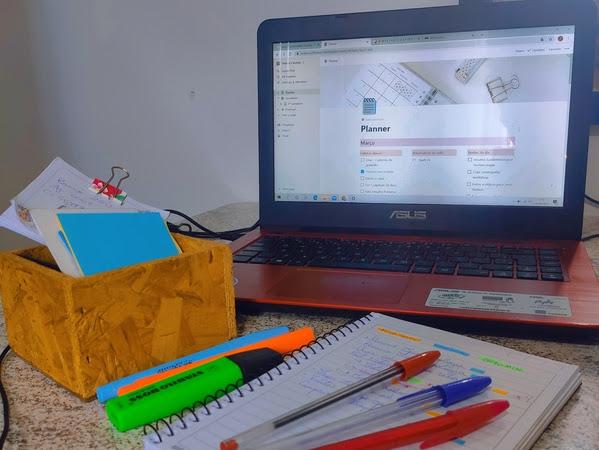Organização: como eu organizo minha rotina mesclando o digital e o analógico