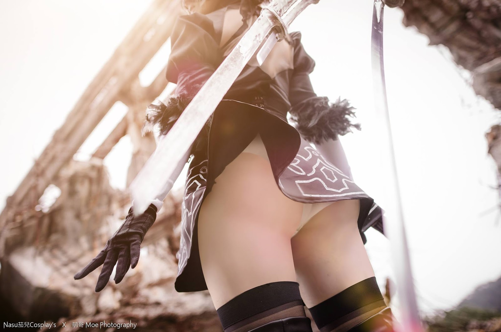 2b nier automata cosplay part 1 5