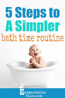 If the way everybody else seems to do bath time for baby, toddler, and kids seems like it takes way too much time and energy, you're right! Keep reading for 5 bath time hacks from bath toys to bath routines that will simplify bath time at your house. #parentinghacks #kids #lifewithkids #bathtimeroutine