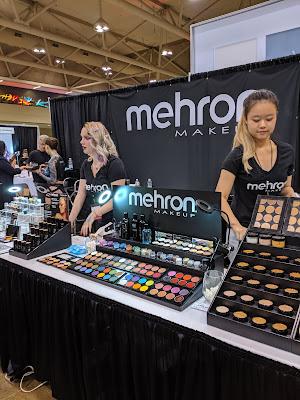 Mehron Makeup display at IMATS Toronto 2019 - www.modenmakeup.com