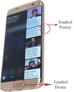 Cara Screenshot Layar Samsung S8