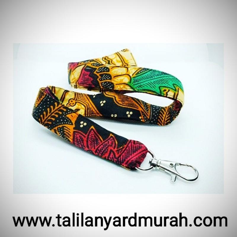 Jual Tali ID Card Printing Desain Batik Harga Murah Di Jakarta
