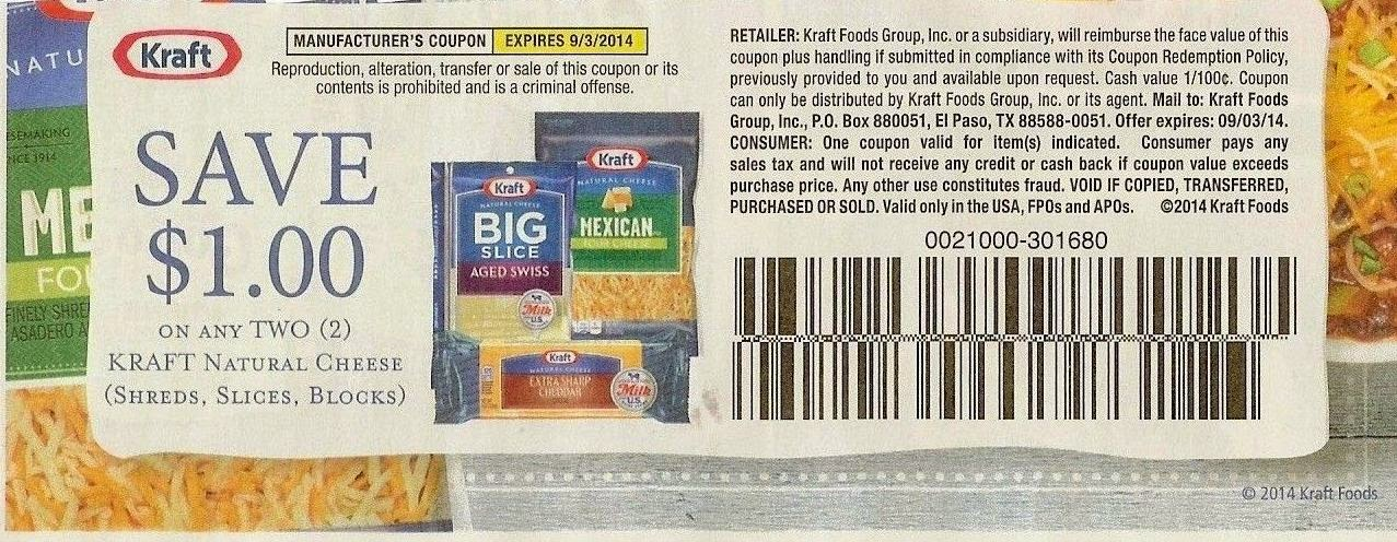 Save Big on Kraft!
