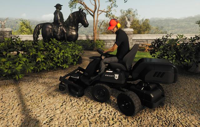 Lawn Mowing Simulator PC Game Free Download-DuloGames