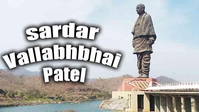 Image of statue of unity used for english essay on sardar vallabhbhai patel