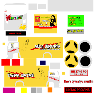 Download Livery Truck Bandar Cabe