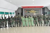 Inilah Pesan Danrem 132/Tadulako Saat Pimpin Pelantikan Kenaikan Pangkat Prajurit TNI
