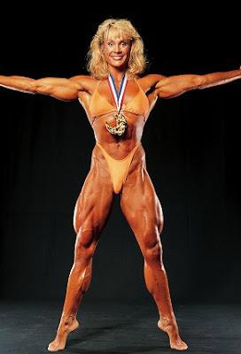 Corinna Everson, American bodybuilder