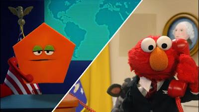 Sesame Street Elmo The Musical President the Musical