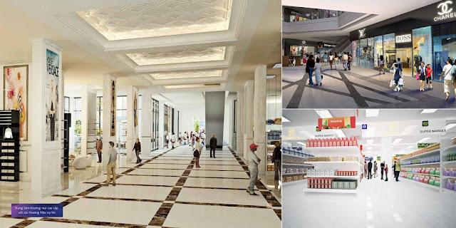 Siêu thị mua sắm tại Chung cư One 18