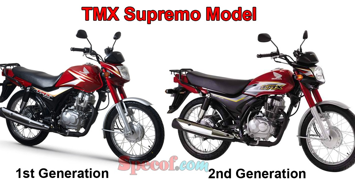 Honda Launched TMX Supremo 2nd Generation | Specof.com