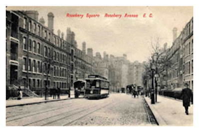 Rosebery Avenue was the second of the two new highways in Clerkenwell planned in 1874