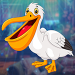 G4K Lovable White Pelican Escape