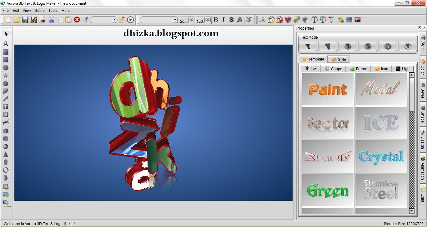 Aurora 3d Text Logo Maker 13 Keygen Free Download