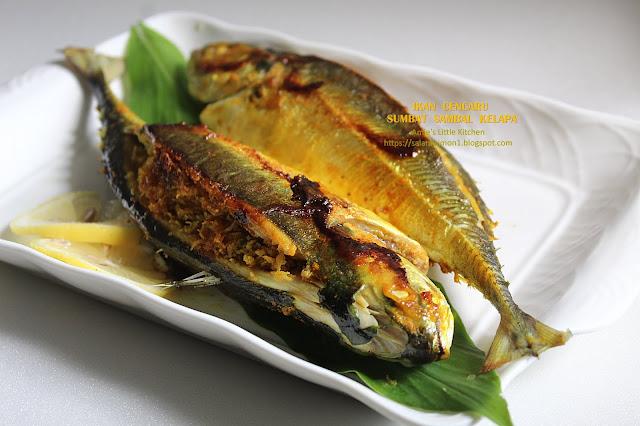 resepi ikan cencaru sumbat sambal kelapa