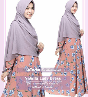 Gamis Latasha Nabila Lady Dress