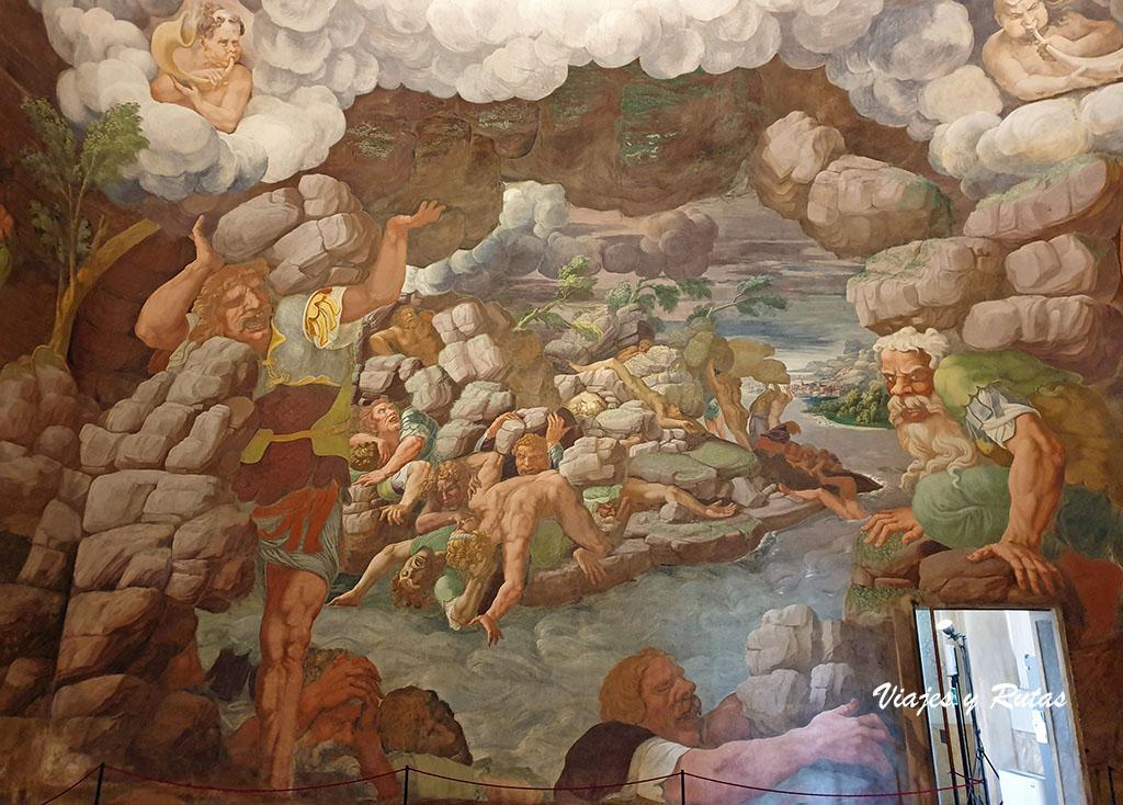 Sala dei Giganti,Palazzo di te, Mantua