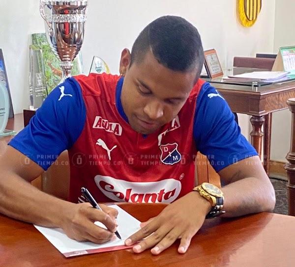 Oficial: Independiente Medellín, firma Harrys