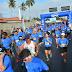 Atletas comemoram o dia dos pais com corrida na Noide Cerqueira, onde 1500 participaram