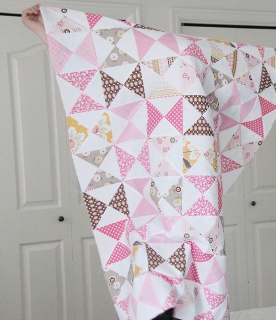 Resultado de imagem para A Pink Classic Quilt Tutorial