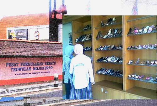 Sepatu wanita murah yang dijual di PPST