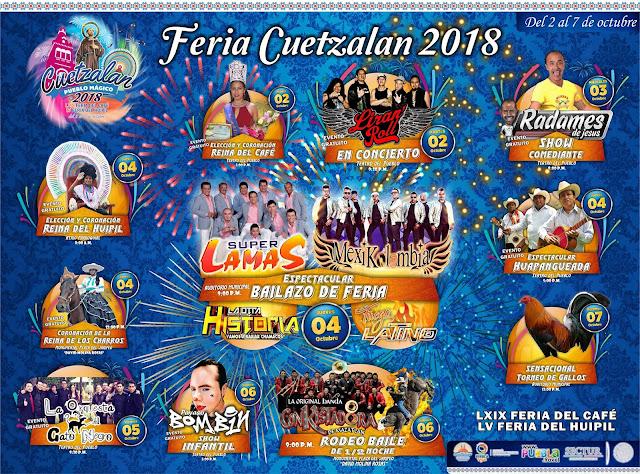 programa feria cuetzalan 2018