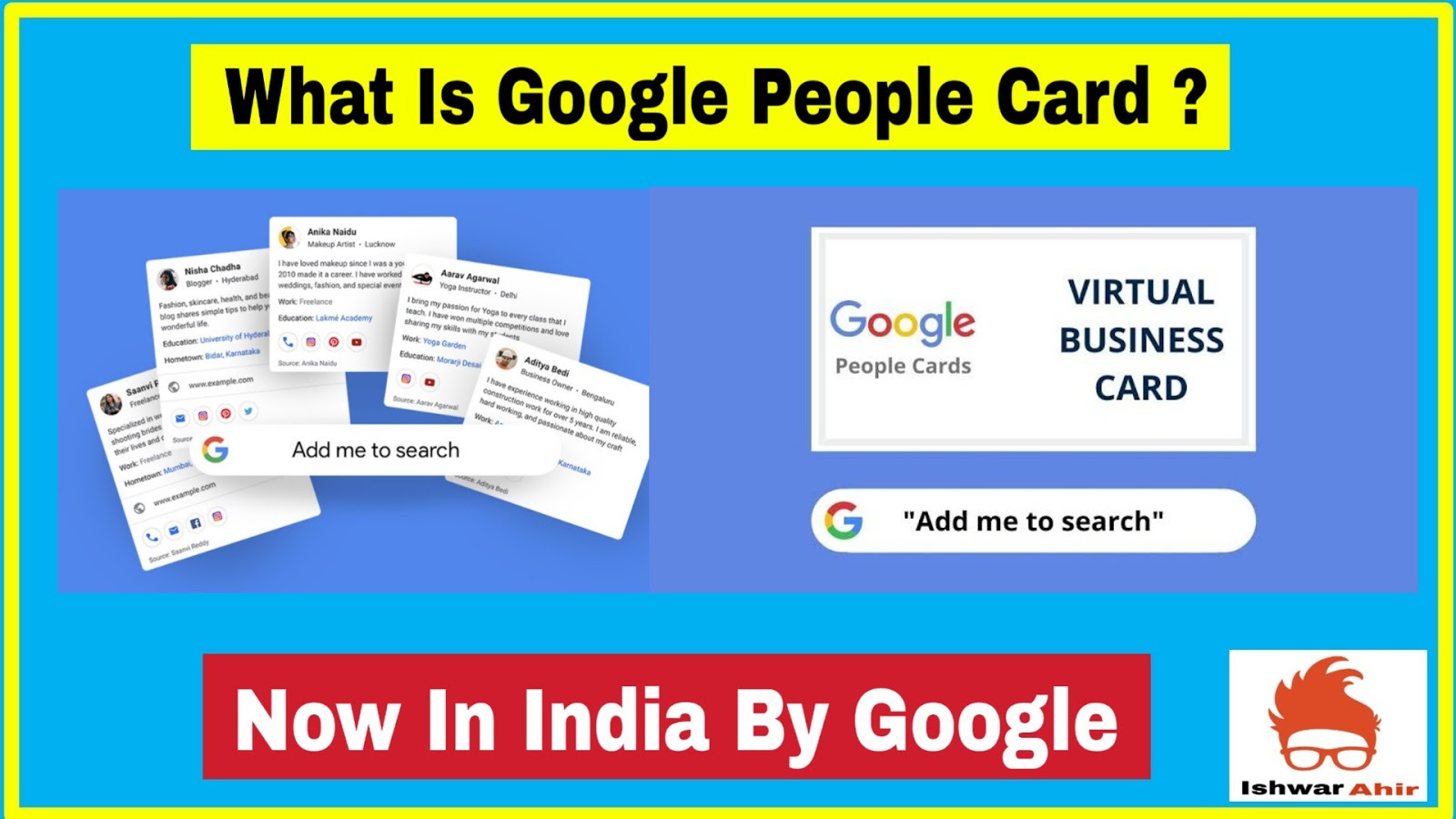 What is Google People Card