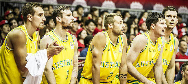 Australian Boomers' Final 12-man lineup (FIBA Basketball World Cup Asian Qualifiers) 5th Window