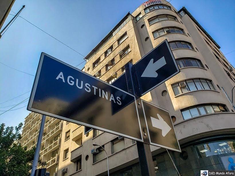 Rua Agustinas - Trocar dinheiro em Santiago: onde fazer câmbio