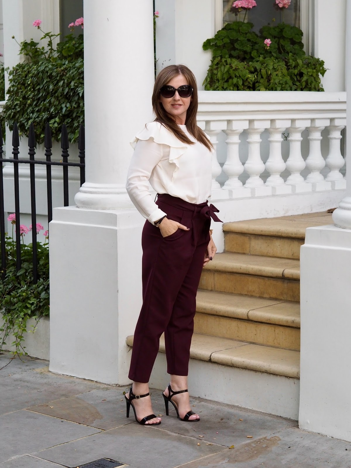 London Fashion Weekend outfit of the day Priceless Life of Mine style New Look trousers