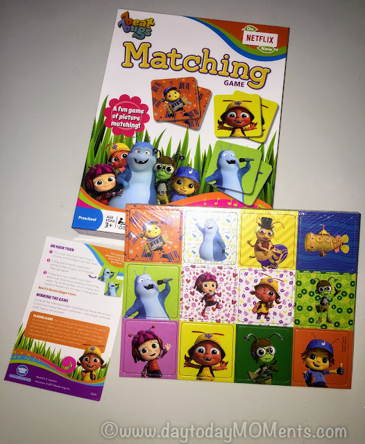 Beat Bugs Matching game