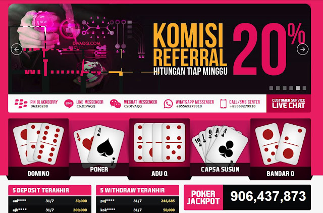 Judi Poker Online Domino99