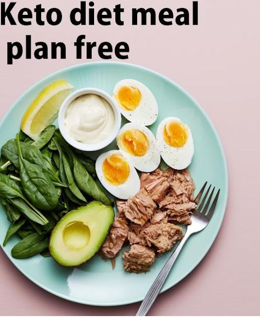 Keto diet meal plan free