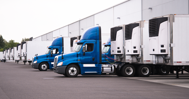 Trucks with reefer units ready for IFTA requirements