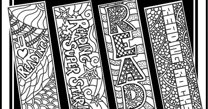 Classroom Freebies Reading Bookmarks Your Students Can Color