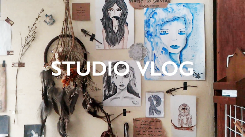 Studio Vlog (Art and Interior Design)