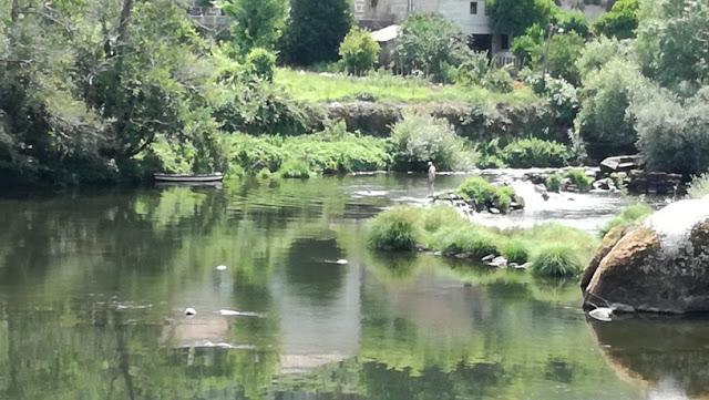 Açude do Rio Tâmega em Amarante