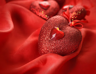 صورة قلب جميل لونه احمر