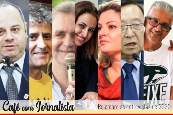 Nas fotos: Alex Chaves, Reginaldo Dias, Ulisses Maia, Iraídes Baptistoni, Patrícia Bezerra, Mário Hossokawa e Eudes Januário – todos entrevistados pelo Café em 2020