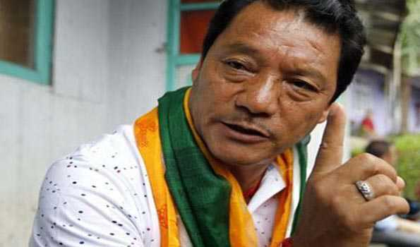 Gorkha Janmukti Morcha leader Bimal Gurung
