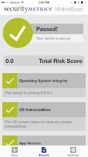 SecurityMetrics MobileScan